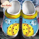 Baseball Customize Croc Clog