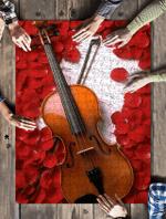 Violin Jigsaw Puzzle 21 X 15 (500 Pcs)