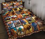 Bison Quilt Bed Set