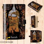 Deer Hunting - Personalized Leather Notebook