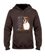 Boxer Dog Together Hoodie