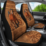 Horse Leather Car Seat Cover