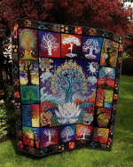 Tree of Life Quilt Blanket