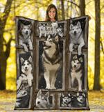 Husky 3D Fleece Blanket