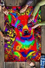 Chihuahua Watercolor Art Jigsaw Puzzles 21 X 15 - 500 Pieces All Products