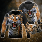 Tiger - King Of The Jungle All Over Printed Hoodie