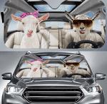 Goat Car Sunshade 57 X 27.5