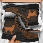 Golden Retriever Mandala Season Boots