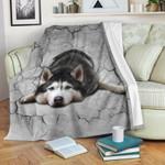 Husky Cozy Fleece Blanket Apparel