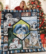 Shih Tzu Quilt Blanket