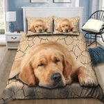 Golden Retriever Sleeping Bedding Set