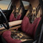 German Shepherd Sleeping Car Seat Cover