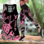 Pink Country Girl Combo Tank Top + Legging