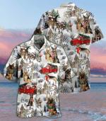 All I Want For Christmas Are German Shepherds Hawaii Shirt