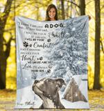 I Am Your Pit Bull Fleece Blanket