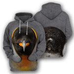 Penguin - 3D All Over Printed Hoodie