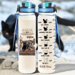 Black Cat Sewing Room Tracker Bottle 32 Oz