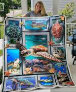 Huge Turtle 3D Fleece Blanket
