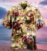 Pirate Santa Claus Maaarghy Christmas Short Sleeve Unisex Shirt