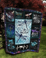 Dragonfly – Hold You In My Heart – Quilt Blanket