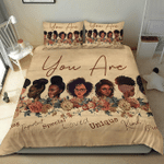 God Says You Are Black Beautiful Bedding Sets Us Twin