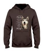 Husky Dog Together Hoodie