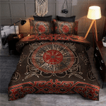 Vegvisir Viking Compass Ornament Bedding Set