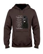 Newfoundland Dog Together Hoodie