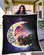 Dachshund To The Moon Blanket X - Large ( 80 X 60 Inches / 200 150 Cm) All Products