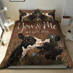 Cow Bedding Set