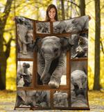 Elephant 3D Fleece Blanket