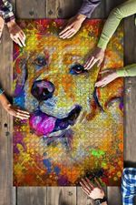 Labrador Dog Colorful Jigsaw Puzzles 21 X 15 - 500 Pieces All Products
