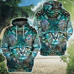 Cat 3D All Over Printed Hoodie