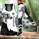 Greyhound tattoo Combo Tank Top + Legging