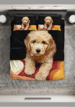 Goldendoodle V1 Bedding Set Us Twin