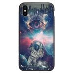 Custom Glass Phone Case Cover Astronaut Iphone / X Collection