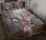 Amazing Deer V2 Quilt Bed Set Twin