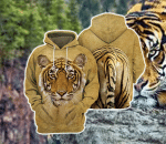 Tiger Body All Over Printed Hoodie