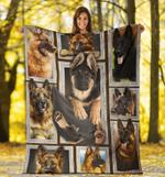 German Shepherd 3D Fleece Blanket