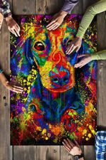 Dachshund Color Jigsaw Puzzles 21 X 15 - 500 Pieces All Products