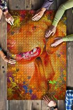 Vizsla Dog Colorful Jigsaw Puzzles 21 X 15 - 500 Pieces All Products