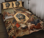 Dachshund Quilt Bed Set HPV01