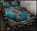 Viking Tree Of Life - Quilt Bedding Set Twin