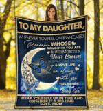 Good Night My Daughter - Fleece Blanket