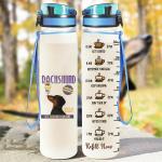 Dachshund Coffee Tracker Bottle 32 Oz