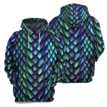 Dragon Scales - 3D All Over Printed Hoodie