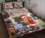 All I Want For Christmas Is A Horse Quilt Bed Set
