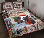 All I Want For Christmas Is A Cow Quilt Bed Set