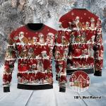 English Bulldog Ugly Christmas Sweater