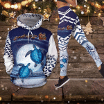 Moon night sea turtle combo hoodie & legging